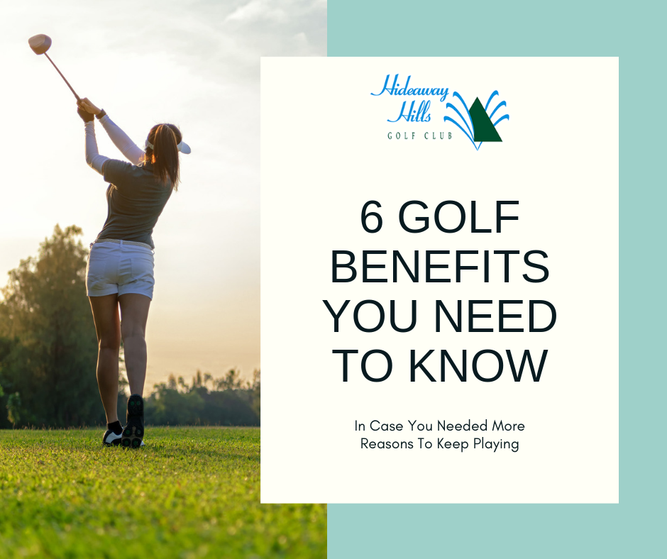 golf benefits