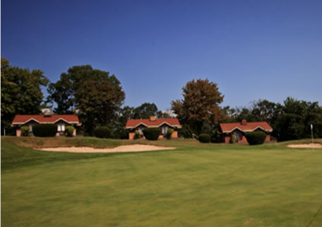 a photo of the view of hideaway hills play and stay cottages
