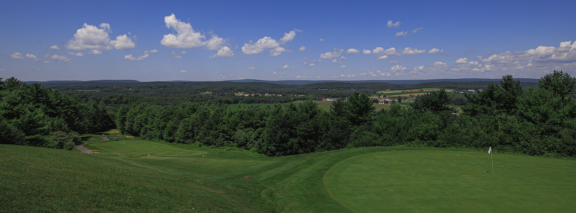 Hideaway Hills golf course panoramic
