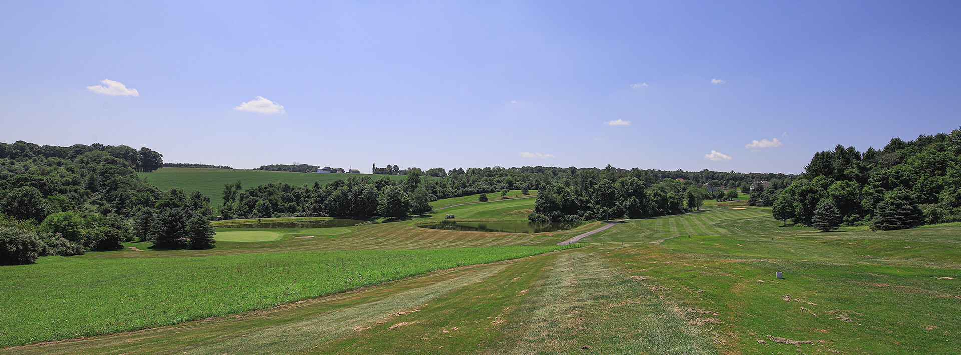 A photo of the Hideaway Hills golf course